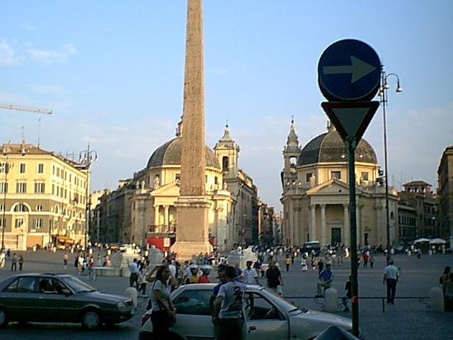 Piazza del Popolo - 1999-08-01-191223