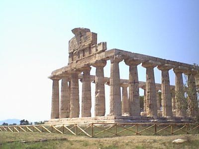 Temple of Athena in Paestum