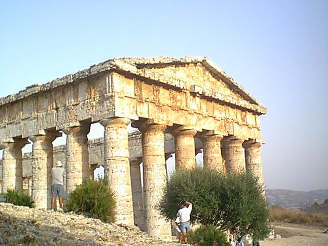 Segesta - Hellenistic temple