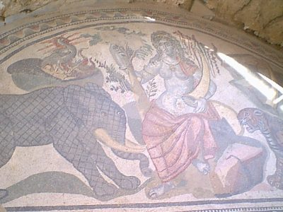 Villa Romana del Casale - allegory of India
