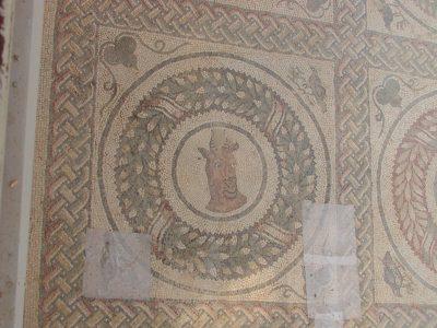 Villa Romana del Casale - mosaic from the peristyle