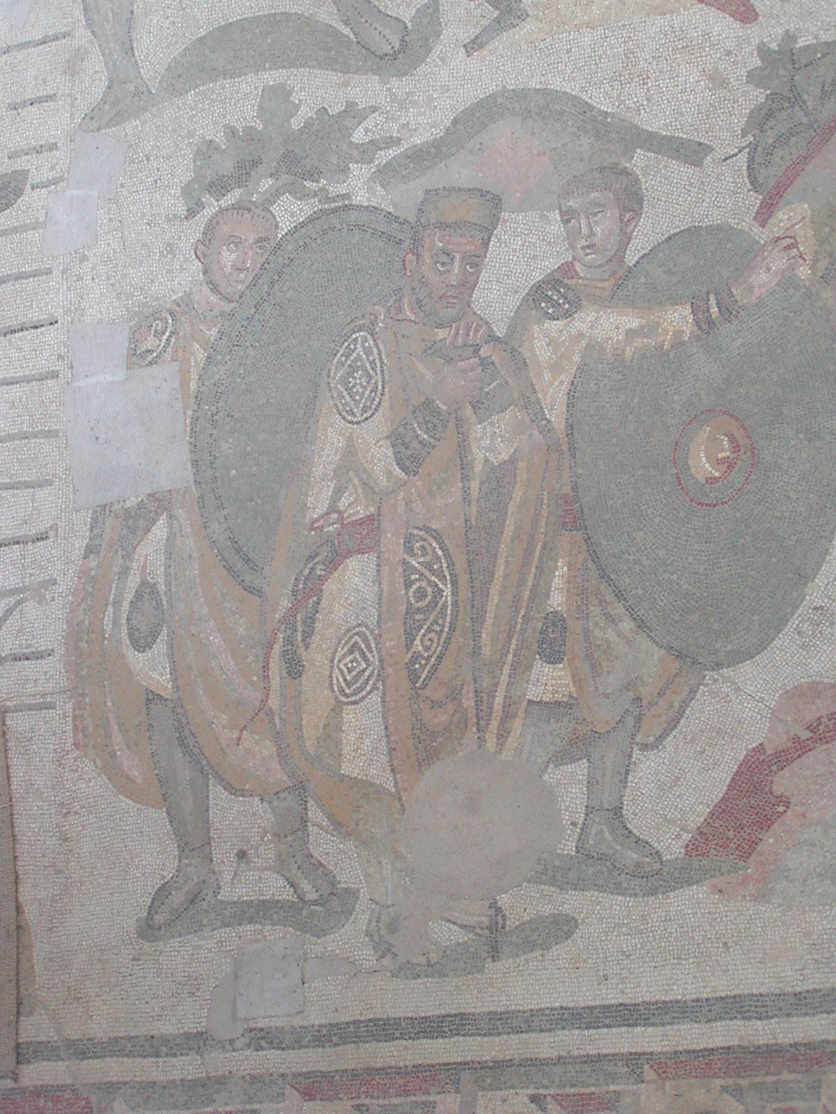 Villa Romana del Casale - the Roman official in charge