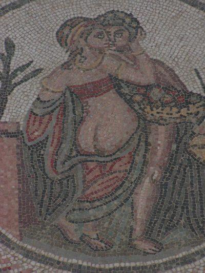 Villa Romana del Casale - Erotic scene from the smaller private apartment