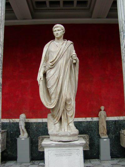 Ny Carlsberg Glyptotek - Statue of Augustus