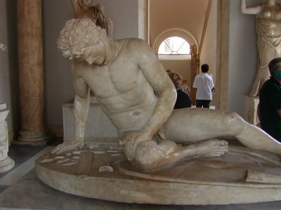 The dying gaul - Palazzo Nuovo - Capitoline Museums