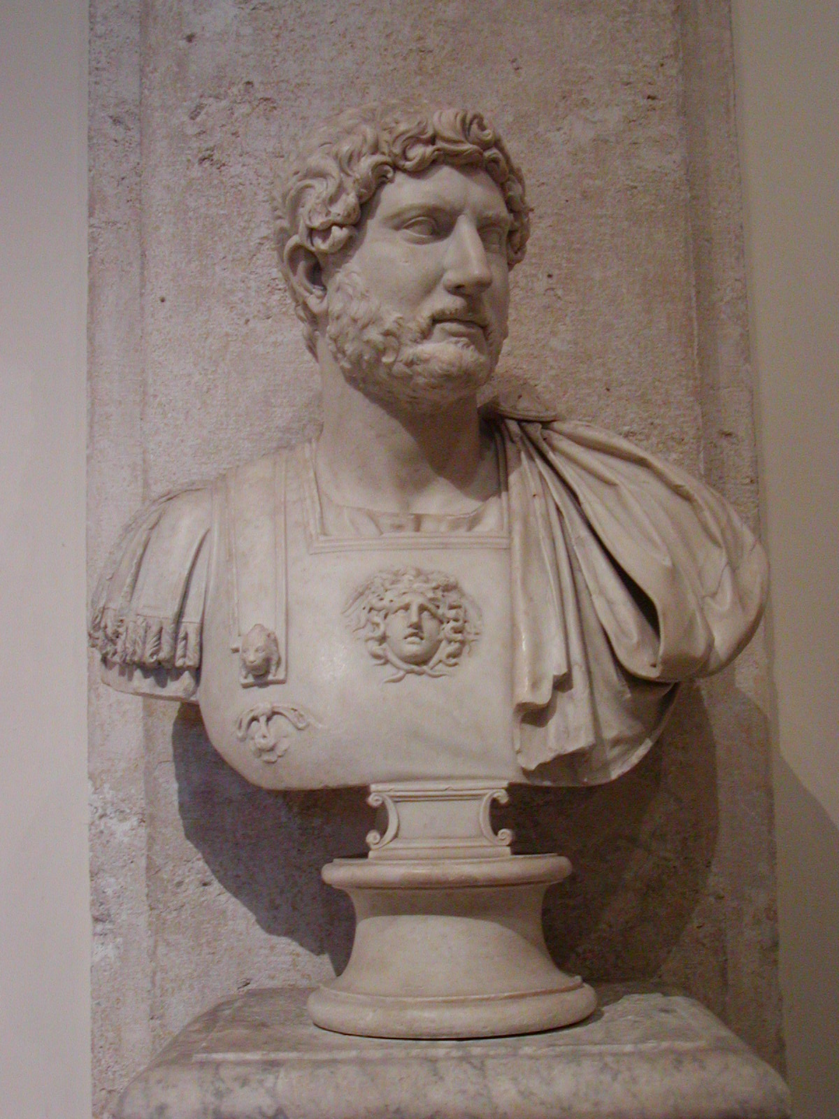Emperor Publius Aelius Hadrianus