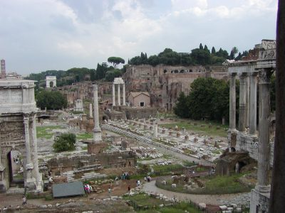 View of the Forum Romanum from the Tabularium