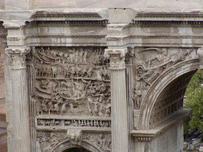 Arch of Septimius Severus - War against the Parthians