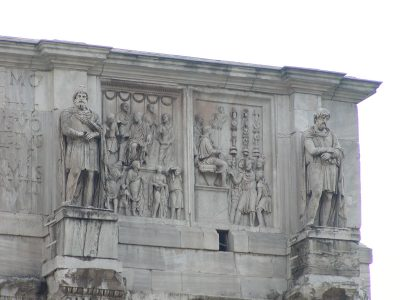 Arch of Constantine - Reliefs from the time of Marcus Aurelius