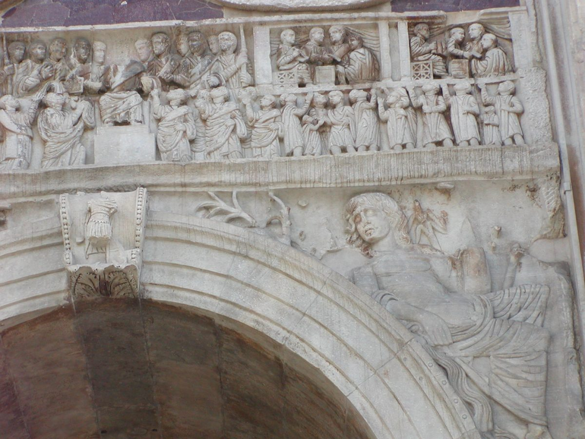 Arch of Constantine - Main frieze, north side, right