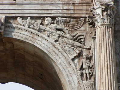 Arch of Constantine - central archway, south face, right