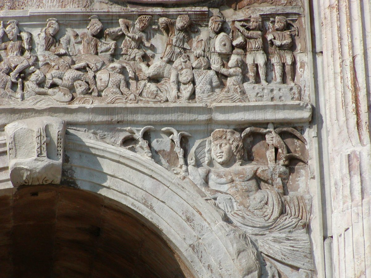Arch of Constantine - main frieze, south side, right