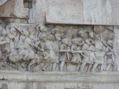 Arch of Constantine - Main frieze, east side
