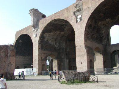 Forum Romanum - The Basilica of Maxentius
