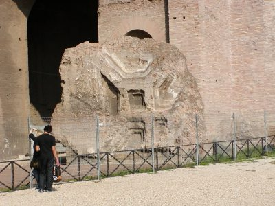 Basilica of Maxentius - fragment of a vault