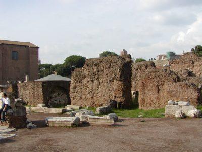 Forum Romanum - Temple of Caesar