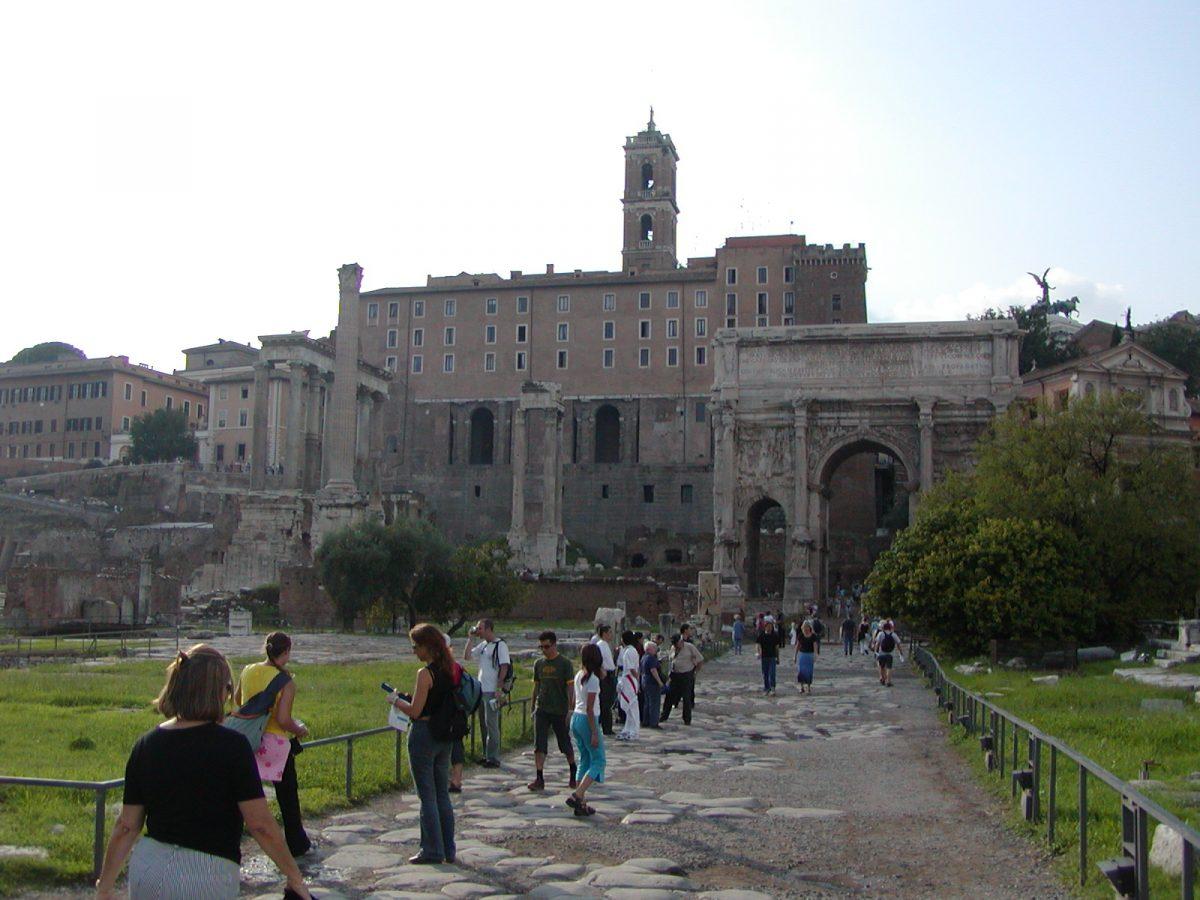 The Forum Area with the Via Sacra