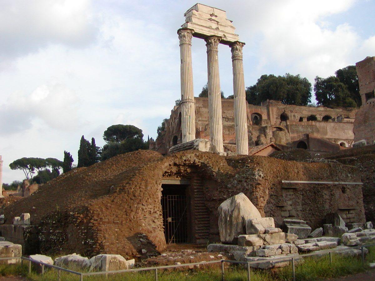 Forum Romanum - Temple of Castor and Pollux