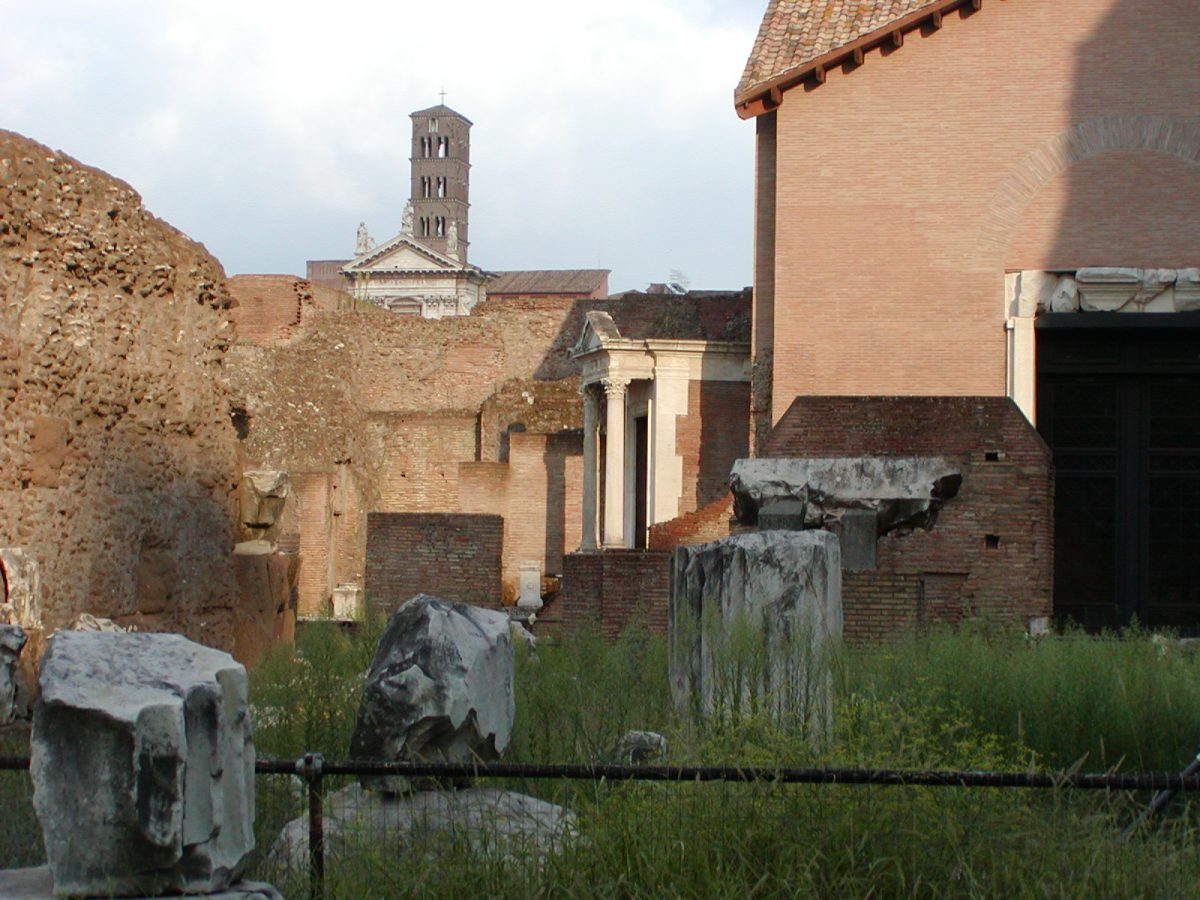 Forum Romanum - Spring of Juturna