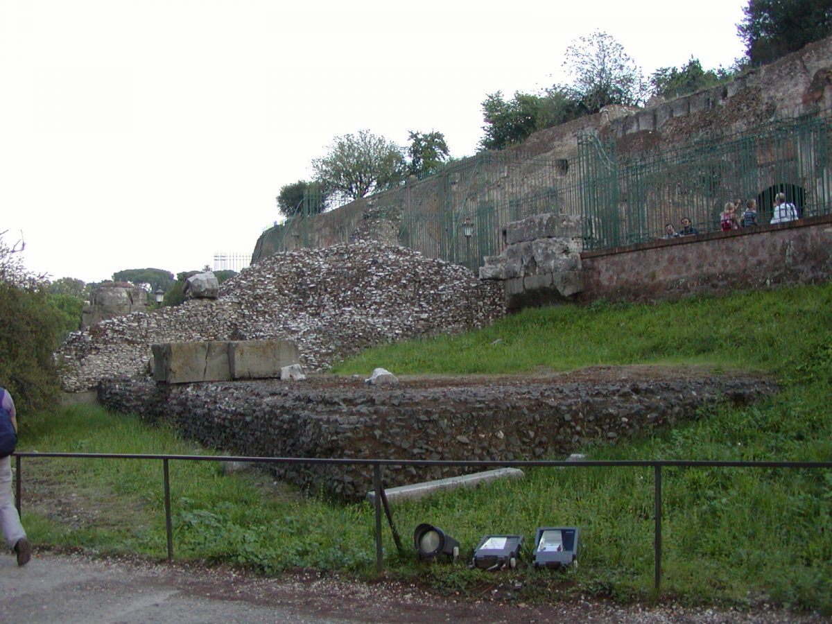 The remains of the Temple of Jupiter Stator (maybe)