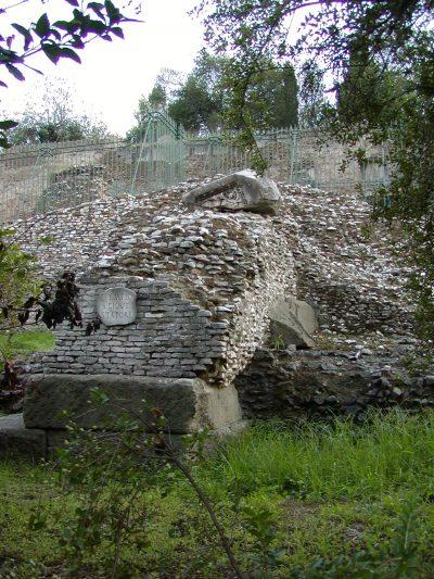 Forum Romanum - Temple of Jupiter Stator