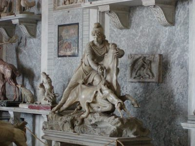 Statue of Mithras - in the Vatican Museums