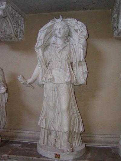 The goddess Luna  - Vatican Museums