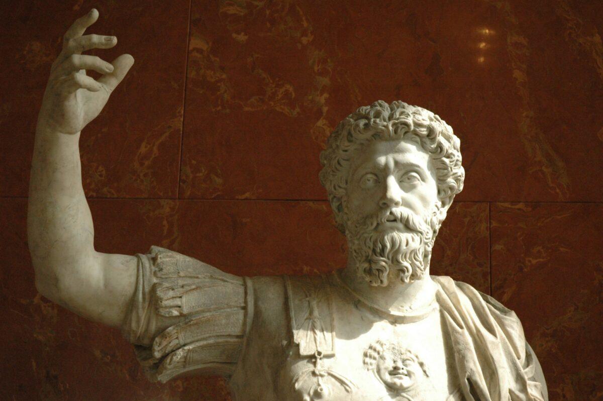Marcus Aurelius in the Louvre