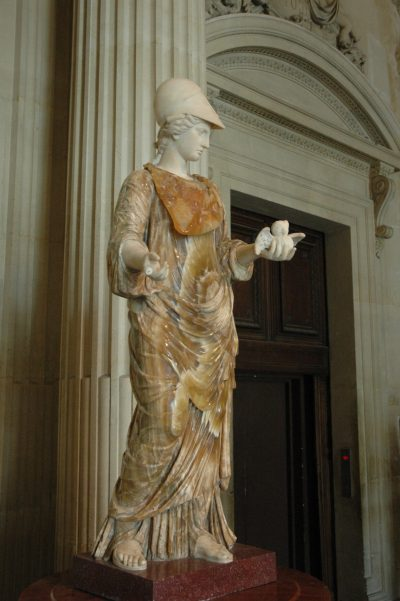 Minerva at the Louvre