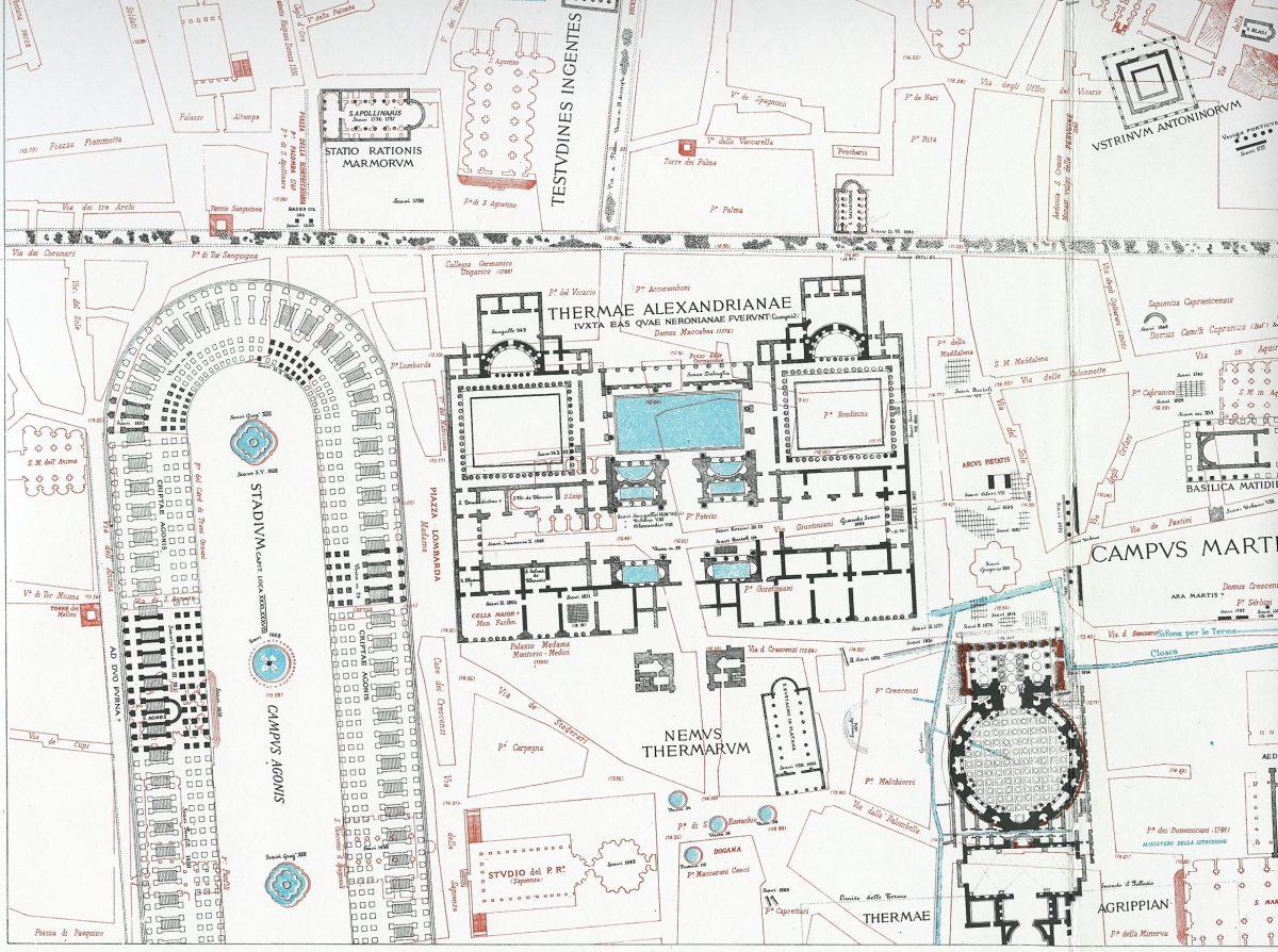 Lanciani: Forma Urbis Romae - 15-LL-campus-martius