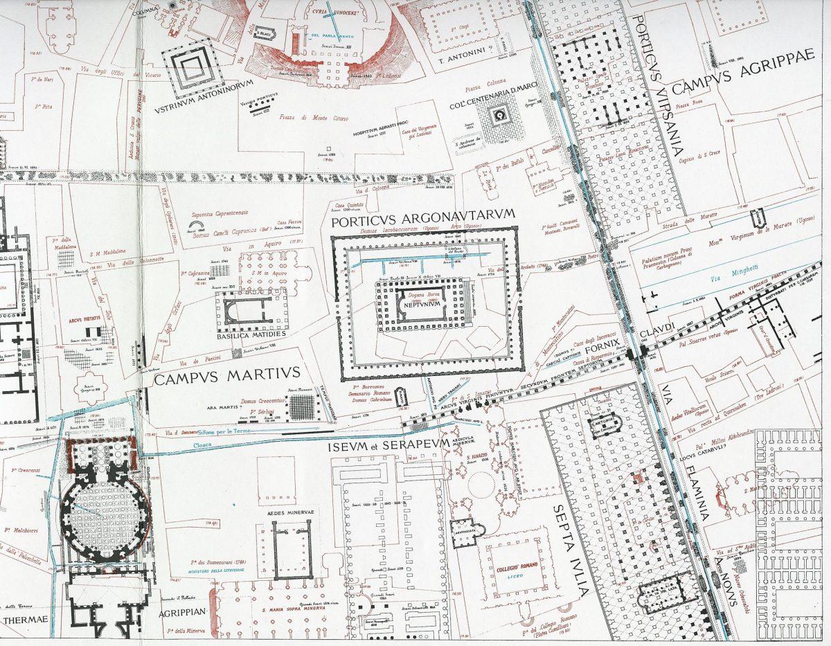 Lanciani: Forma Urbis Romae - 15-LR-campus-martius