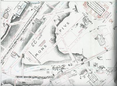 Lanciani: Forma Urbis Romae - 23-UL-thermae-traiane