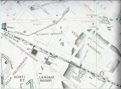 Lanciani: Forma Urbis Romae - 24-LL-labicana