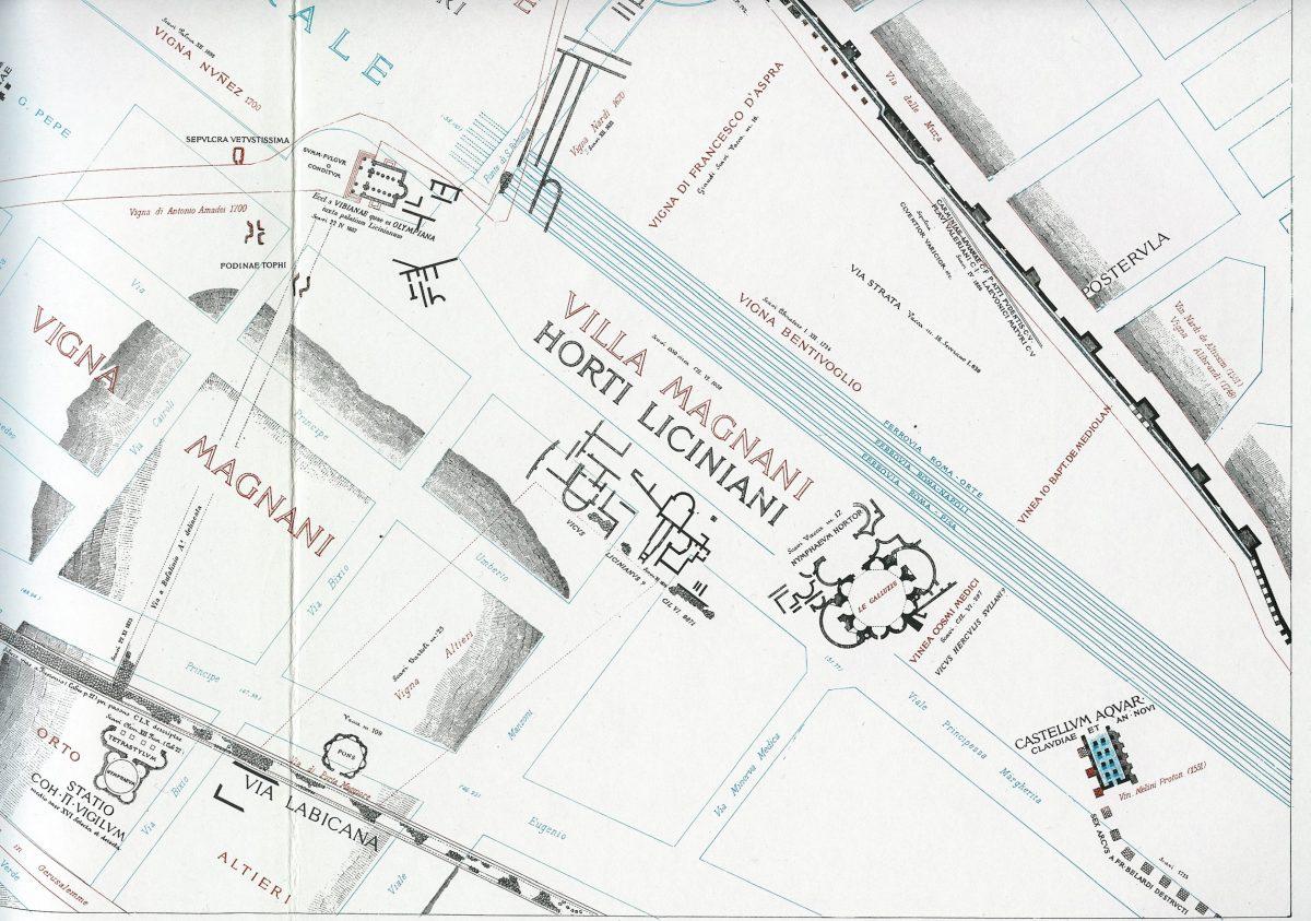 Lanciani: Forma Urbis Romae - 24-LR-stazione