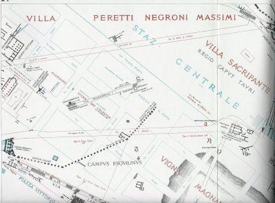 Lanciani: Forma Urbis Romae - 24-UL-stazione