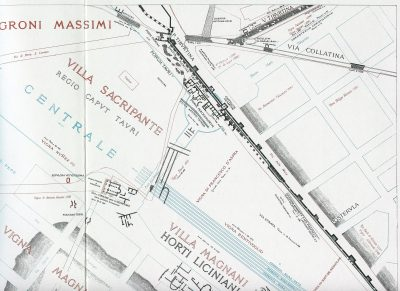 Lanciani: Forma Urbis Romae - 24-UR-stazione