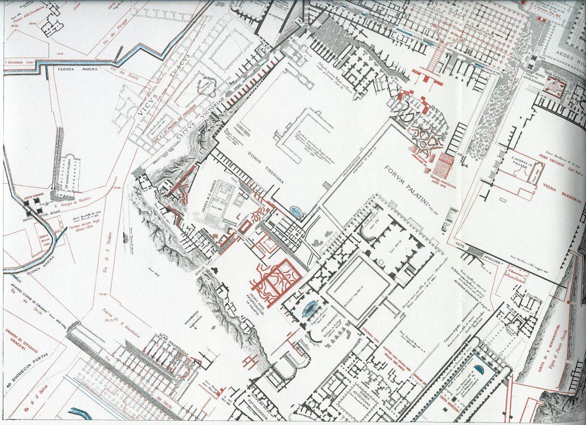 Lanciani: Forma Urbis Romae - 29-LL-palatin