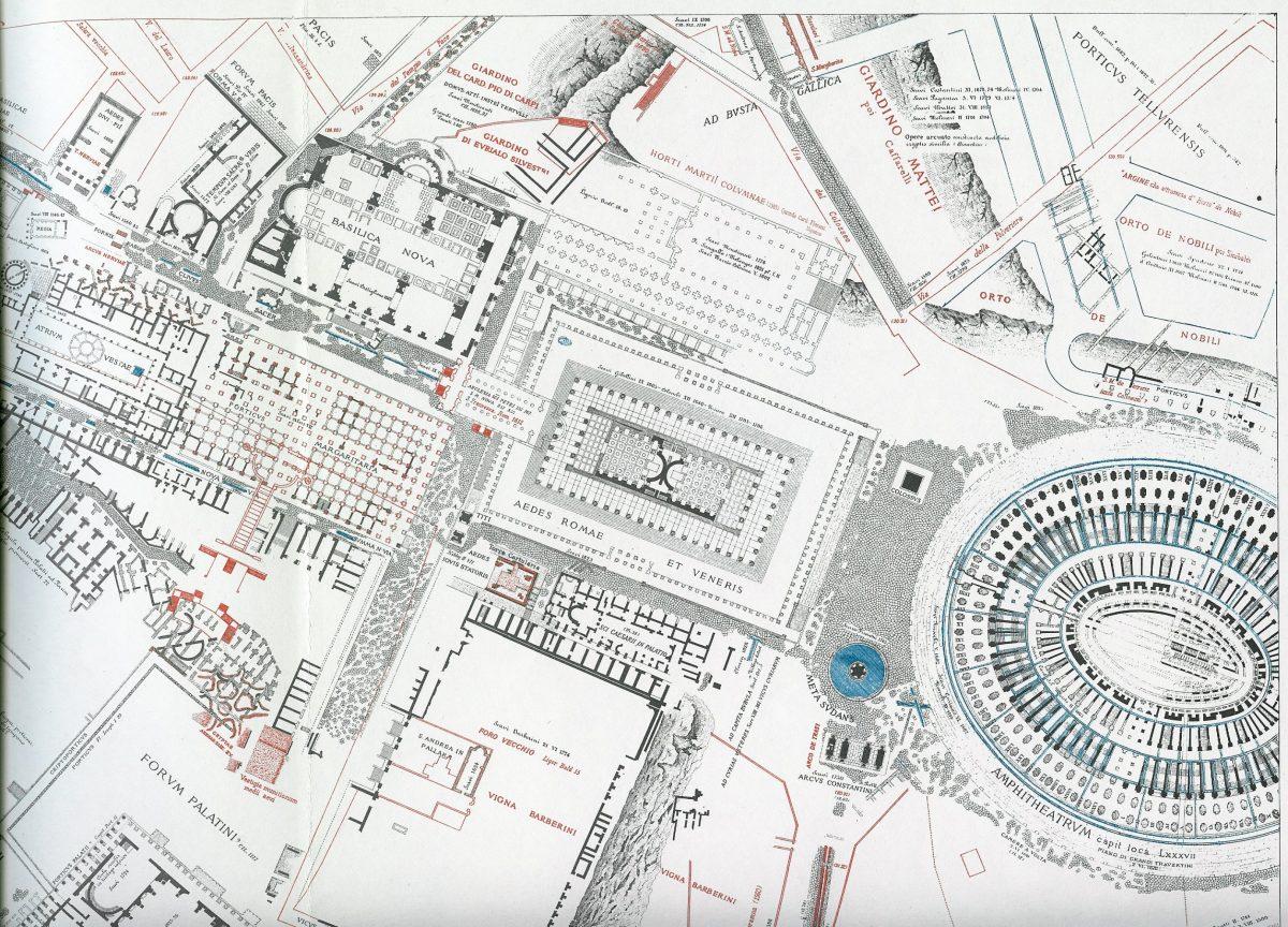 Lanciani: Forma Urbis Romae - 29-UR-colosseum