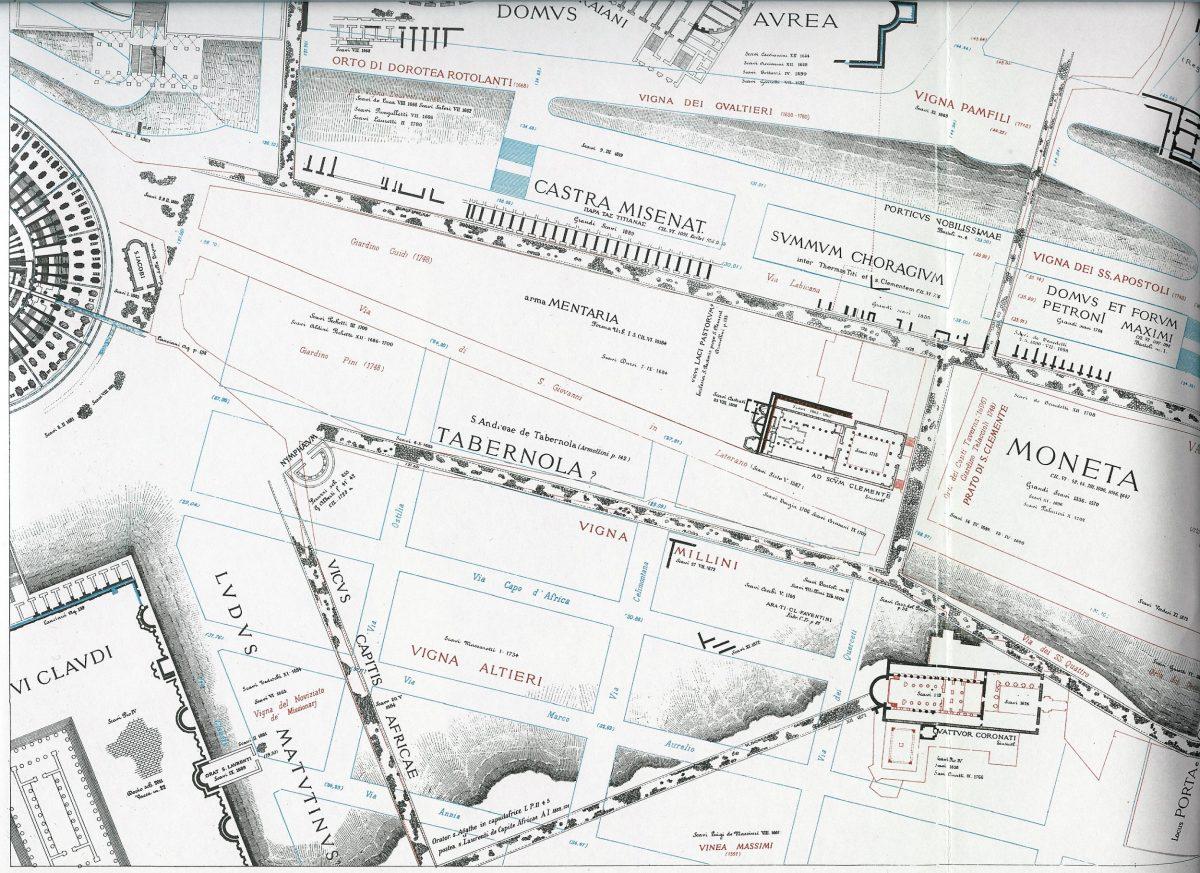 Lanciani: Forma Urbis Romae - 30-LL-colosseum