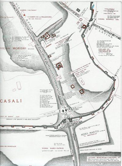 Lanciani: Forma Urbis Romae - 46-via-appia