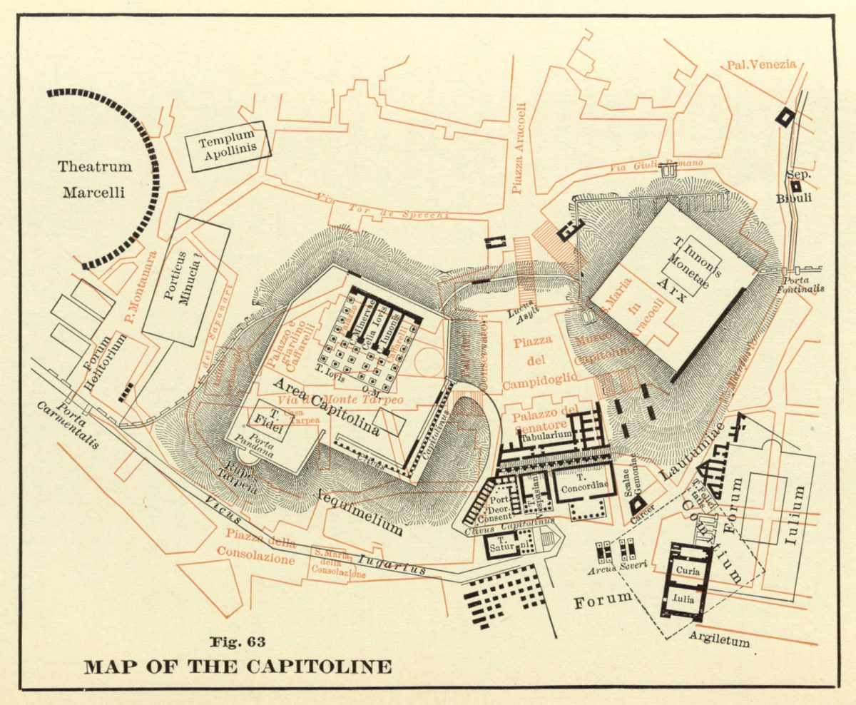 Platner: Topography and Monuments - capitoline
