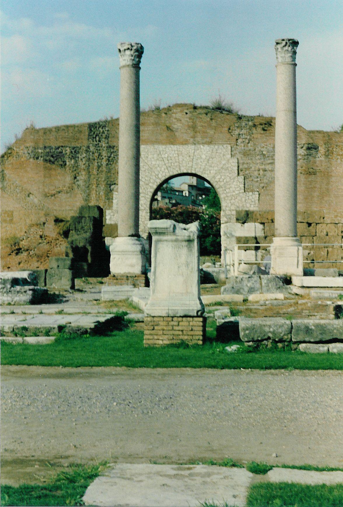 Ruins of the Basilica Aemilia